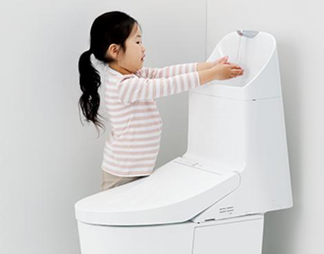 手洗いしやすい高さ